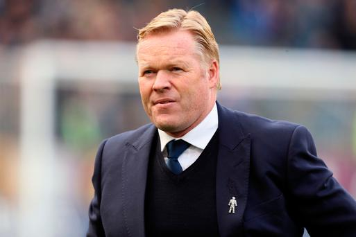 Everton manager Ronald Koeman: