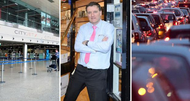 Garda strike chaos: Airports and courts braced for disruption, 'sitting duck' retailers and 'carnage' on the roads