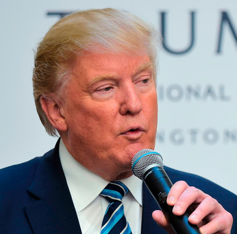 'Donald Trump is the most extreme exponent of post-truth politics' Photo: Getty