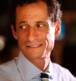 Campaign on a roll: Then along came Anthony Weiner Photo: Spencer Platt/Getty Images