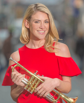 Fun: Cathy Coyle at the Guinness Cork Jazz Festival Photo: Michael Mac Sweeney/Provision