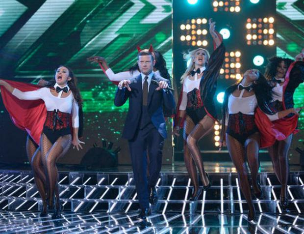 X Factor Fright Night. Picture: ITV