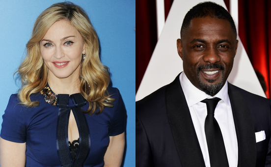 What's brewing? Material Girl Madonna seen getting cosy with Idris Elba