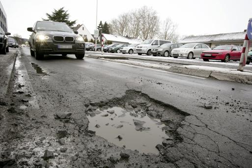 'People around here are obsessed with potholes. There are about 20,000 votes in potholes, if the last election is anything to go on. Right now the hole is the only show in town. We talk of little else'. Stock photo: Getty