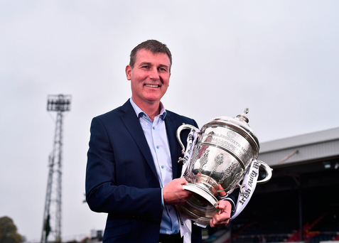 Dundalk manager Stephen Kenny. Photo by David Maher/Sportsfile
