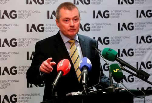 IAG CEO Willie Walsh. Photo: Niall Carson/PA Wire