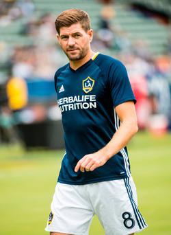 Steven Gerrard is finding himself surplus to requirements at LA Galaxy. Photo by Shaun Clark/Getty Images