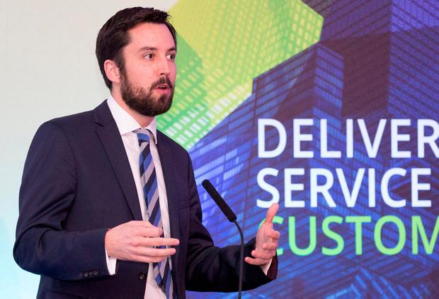 Eoghan Murphy, Minister of State for Financial Services, eGovernment and Public Procurement. Pic:Naoise Culhane