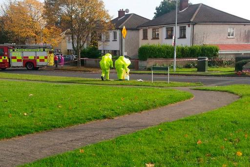 DFB respond to a hazardous material in Neilstown
