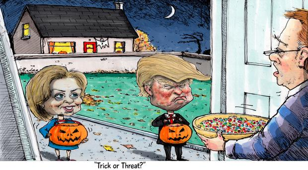 'Trick or treat?'