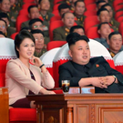 North Korean leader Kim Jong-un with his wife Ri Sol-ju at an event in Pyongyang in March, 2014. Photo: Reuters
