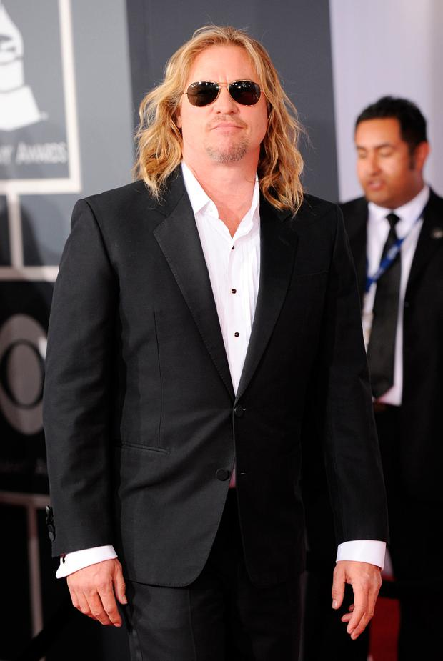 Actor Val Kilmer arrives at the 54th Annual GRAMMY Awards held at Staples Center on February 12, 2012 in Los Angeles, California. (Photo by Jason Merritt/Getty Images)