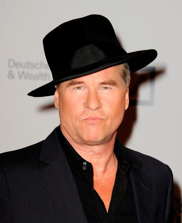 Actor Val Kilmer arrives at the 23rd Annual Simply Shakespeare Benefit reading of