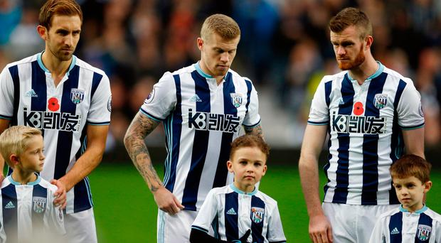 James McClean has stood up for his beliefs and does not wear a poppy
