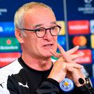 Leicester City's Claudio Ranieri. Photo: AFP/Getty Images