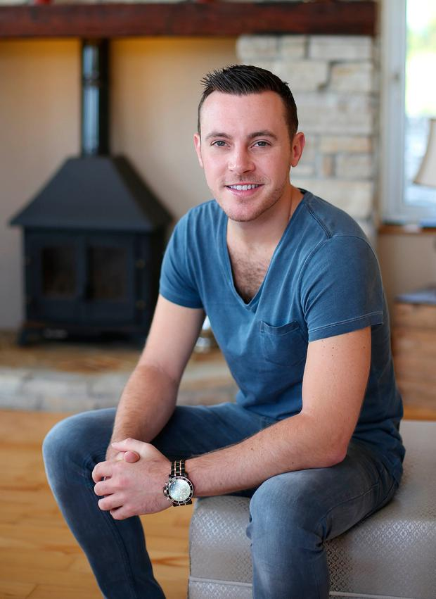 Nathan Carter admits to a weakness for chocolate. Photo: Fran Veale