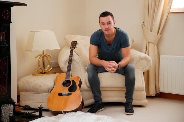 Nathan Carter says the female attention is strange for him. Photo: Fran Veale
