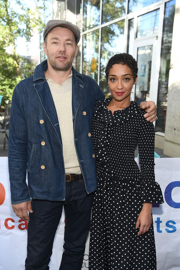 Actor Joel Edgerton and actress Ruth Negga attends Focus Features'