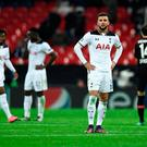 Tottenham's Kyle Walker looks dejected after the game Reuters / Dylan Martinez Livepic EDITORIAL USE ONLY.