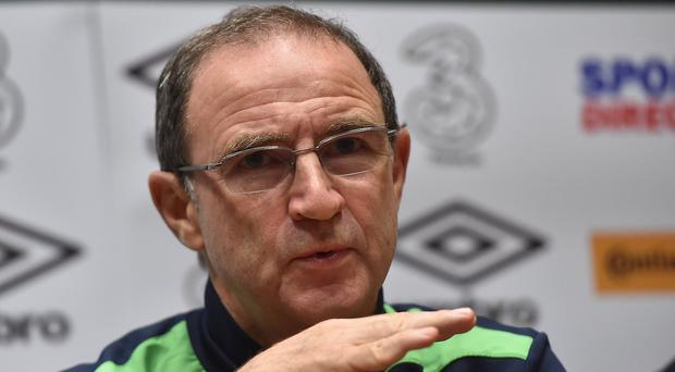 O'Neill made it clear that he was deeply unhappy with any suggestion that Ireland had behaved improperly. Photo by David Maher/Sportsfile