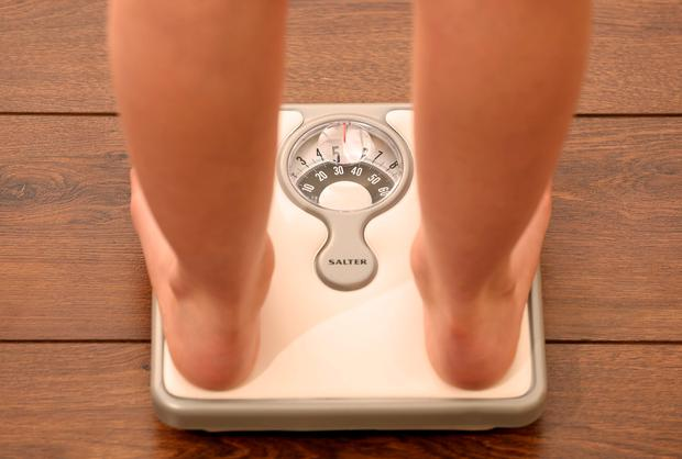 The study found that 4pc of young people whose mother had a degree were obese, compared to 14pc of those whose mother had left school at Junior Certificate or earlier (Stock picture)