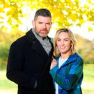 Kathryn Thomas and Padraig McLoughlin pictured in the Irish National War Memorial Gardens in Islandbridge. Picture: Marc O'Sullivan