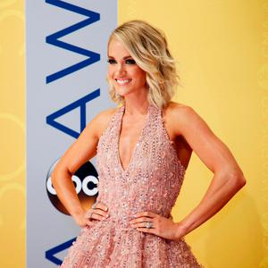 Singer Carrie Underwood arrives at the 50th Annual Country Music Association Awards in Nashville, Tennessee. REUTERS/Jamie Gilliam