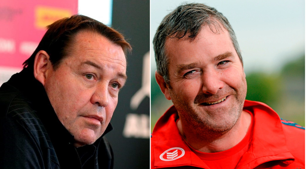 All Blacks coach Steve Hansen has paid tribute to the late Anthony Foley