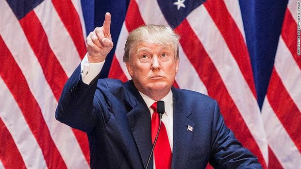 Donal Trump announces his presidential candidacy