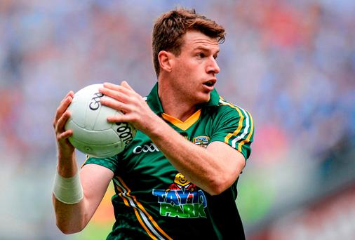 A fit Shane O'Rourke would give Meath's championship ambitions a big boost. Photo: Piaras Ó Mídheach / SPORTSFILE