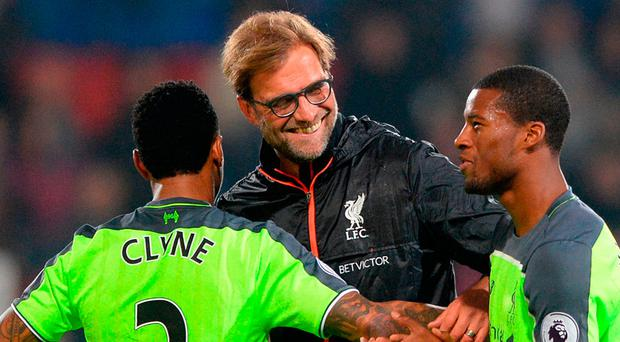 Klopp is said to be enthusiastic about the prospect of working closely with Edwards. Photo: Dominic Lipinski/PA Wire