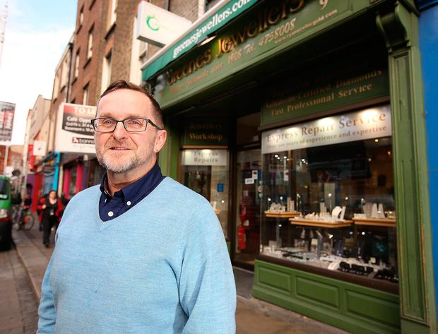 Philip Ryan of Greenes Jewellers on Aungier Street had been considering whether or not to close his shop