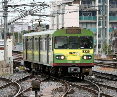 Some passengers will face an increase in Dart fares Photo: Frank McGrath