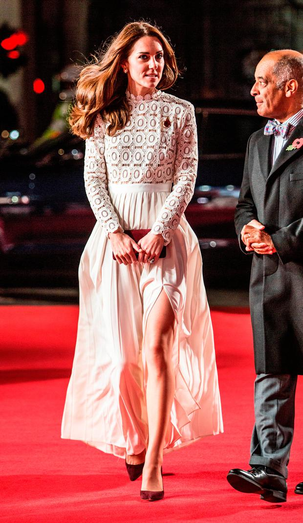 Catherine, Duchess of Cambridge, Patron of Action on Addiction, attends the UK Premiere of