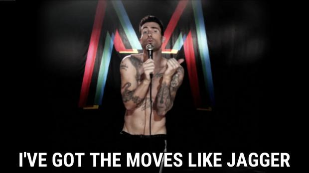 Maroon 5, Moves Like Jagger ft. Christina Aguilera, Hands All Over