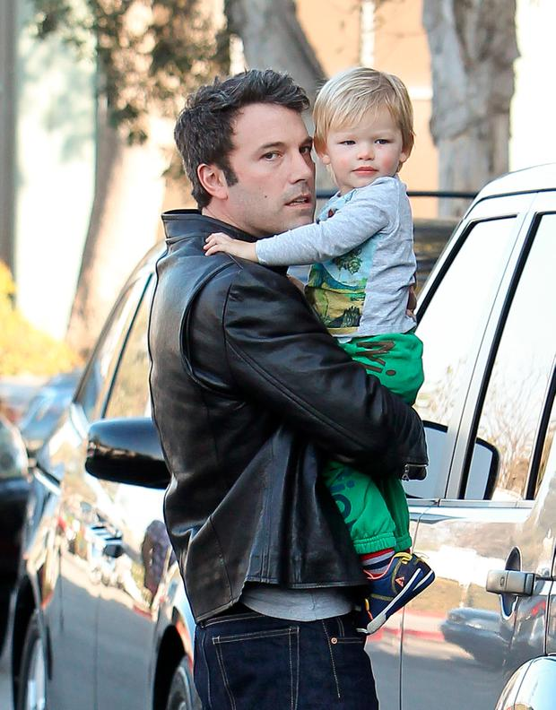Ben Affleck and Samuel Affleck are seen on November 09, 2013 in Los Angeles, California. (Photo by Bauer-Griffin/FilmMagic)