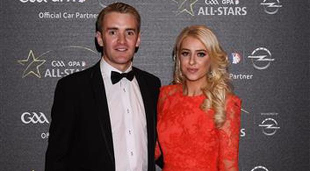 Tipperary hurler Noel McGrath with Aishling Crowe
