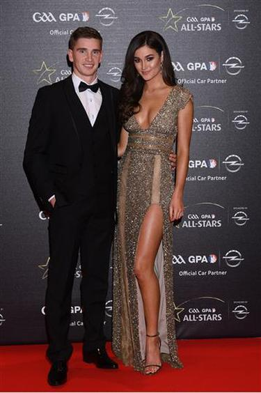 In pictures: Wives and partners take to the red carpet with GAA