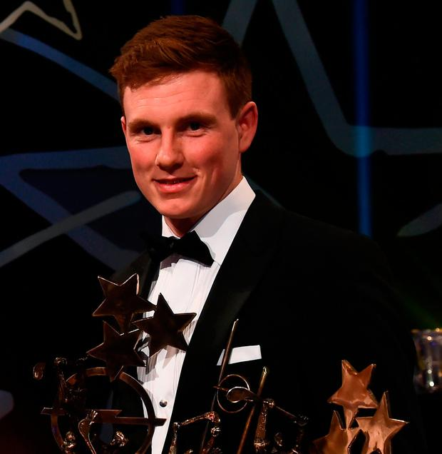 Hurler of the year Austin Gleeson. Photo by Ramsey Cardy/Sportsfile