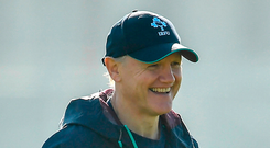 It helps that Joe Schmidt is a Kiwi. We are blessed he stayed on as our coach. Joe will have a plan and it will be a good plan. Photo by Brendan Moran/Sportsfile