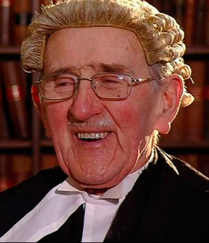 'Father of the Bar' Maurice Gaffney