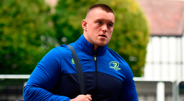 Leinster prop Andrew Porter . Photo by Stephen McCarthy/Sportsfile