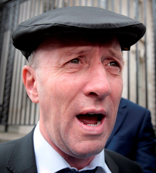 Independent TD Michael Healy-Rae Photo: Tom Burke