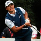Hideki Matsuyama won last week's WGC-HSBC Champions golf tournament at the Sheshan International Golf Club in Shanghai, but bagging a Major win has remained elusive for Japanese players. Photo: Ng Han Guan/AP