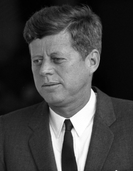 John F Kennedy's won a narrow victory in the 1960 Presidential election Photo: PA