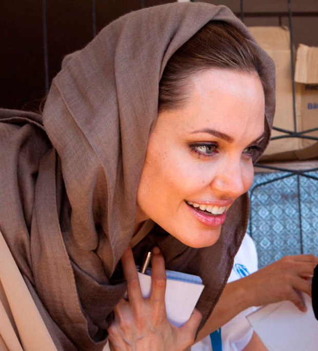 Angelina Jolie is executive producer of Irish-made 'The Breadwinner', but did she also inspire the cartoon's heroine? Photo: REUTERS/UNHCR/Jason Tanner/Handout