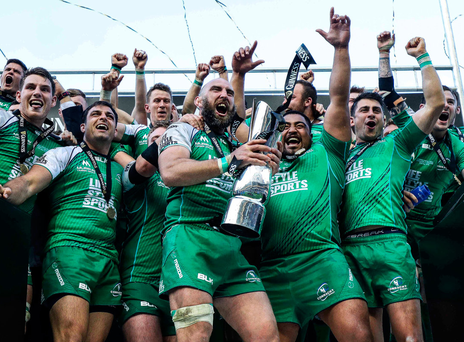 After years of uncertainty around their future, John Muldoon and the Connacht side taste victory by lifting the Pro12 trophy at Murrayfield last season. ©INPHO/Dan Sheridan