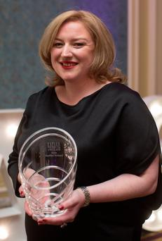 Dearbhail McDonald Group Business Editor at Independent, who won the Media category award at the annual Irish Tatler Women of the Year Awards 2016. Credit: Fergal Phillips
