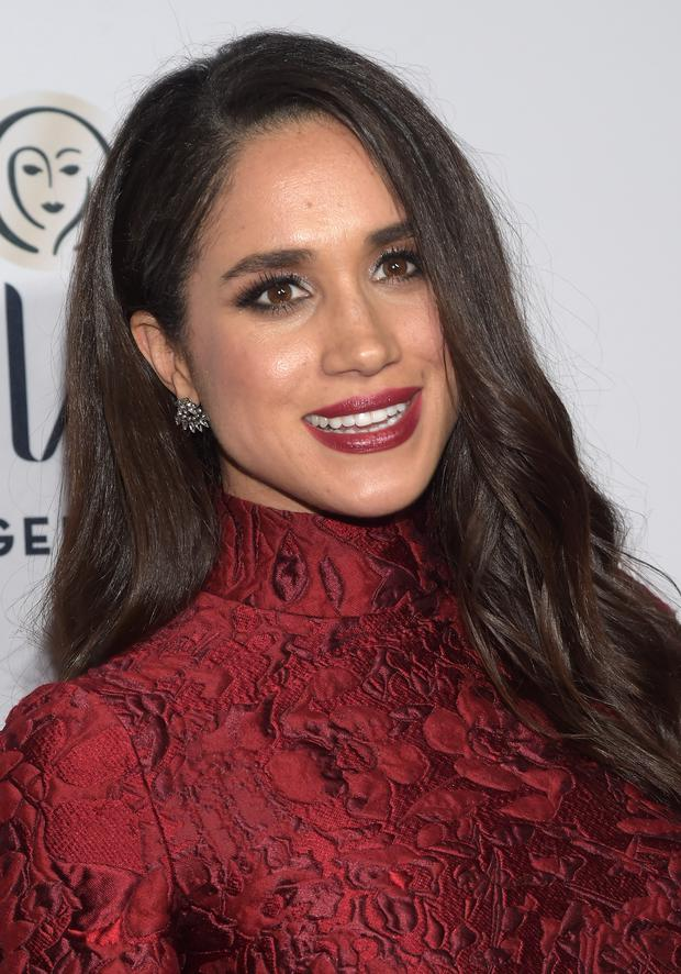 Meghan Markle attends ELLE's 6th Annual Women In Television Dinner. (Photo by Jason Kempin/Getty Images)