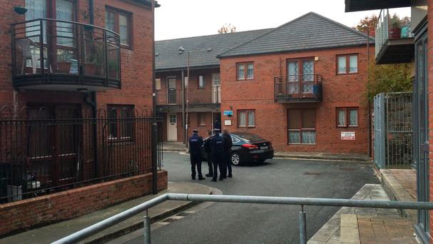 A man in his sixties was stabbed